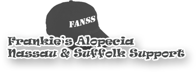 frankies alopecia nassau and suffolk support logo